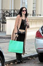 EVA GREEN Leaves Claridges Hotel in London 09/22/2016