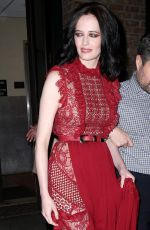 EVA GREEN Out and About in New York 09/26/2016