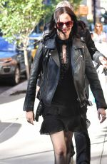 EVA GREEN Out in Greenwich in New York 09/27/2016