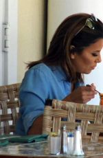 EVA LONGORIA Out for Lunch in Beverly Hills 09/15/2016