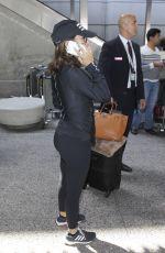 EVA LONORIA at LAX Airport in Los Angeles 09/05/2016