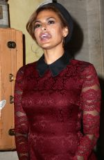 EVA MENDES at New York & Company Front Row FW16 Runway Show in New York 09/06/2016