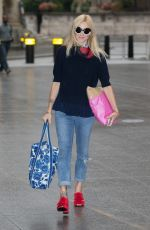FEARNE COTTON Arrives at BBC Radio 2 Studios in London 09/10/2016