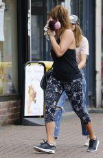 FERNE MCCANN at a Gym in Essex 09/05/2016
