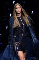GIGI HADID at Versace Fashion Show in Milan 09/23/2016