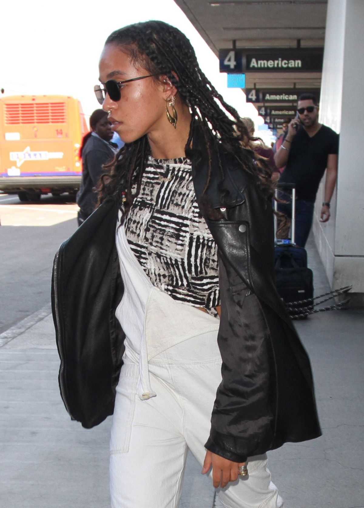 FKA TWIGS at LAX Airport in Los Angeles 09/26/2016