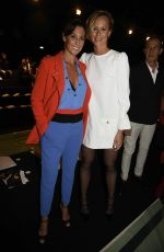 FLAVIA PENNETTA at Elisabetta Franchi Fashion Show in Milan 09/23/2016