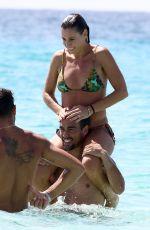 FLAVIA PENNETTA in Bikini at a Beach in Rome 09/14/2016