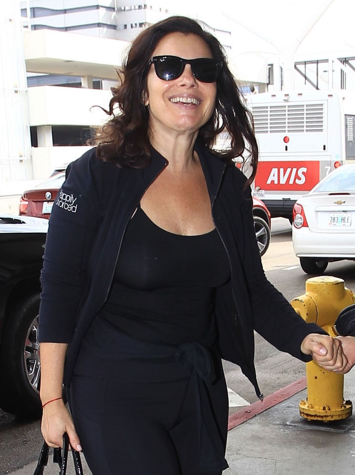 FRAN DRESCHER at LAX Airport in Los Angeles 09/19/2016