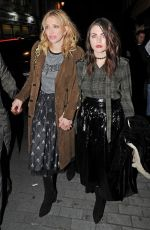 FRANCES BEAN COBAIN at Love Magazine Party in London 09/19/2016