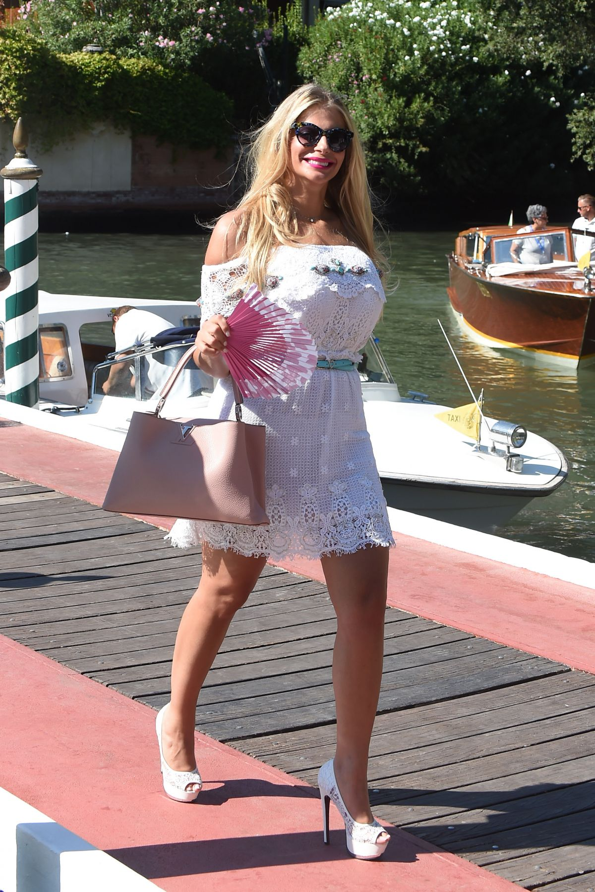 FRANCESCA CIPRIANI Out in Venice 08/31/2016