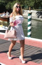 FRANCESCA CIPRIANI Out in Venice 08/31/2016