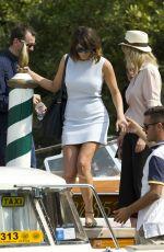 GEMMA ARTERON Leaves Excelsior Hotel in Venice 09/07/2016
