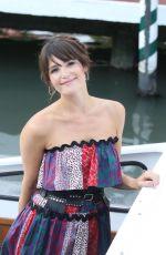 GEMMA ARTERTON at a Water Taxi in Venice 08/30/2016