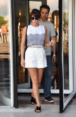 GEMMA ARTERTON Leaves Her Hotel in Venice 09/06/2016