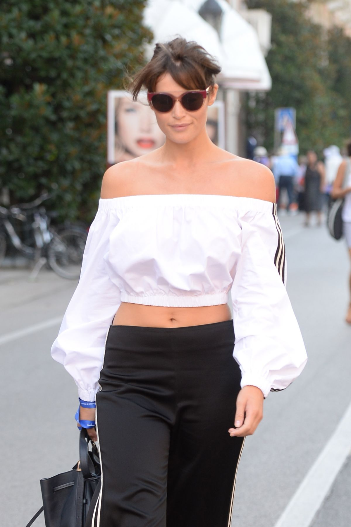 GEMMA ARTERTON Out and About in Venice 09/08/2016