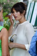 GEMMA ARTERTON Out and About in Venice 09/09/2016
