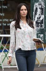 GENESIS RODRIGUEZ Out and About in New York 09/01/2016