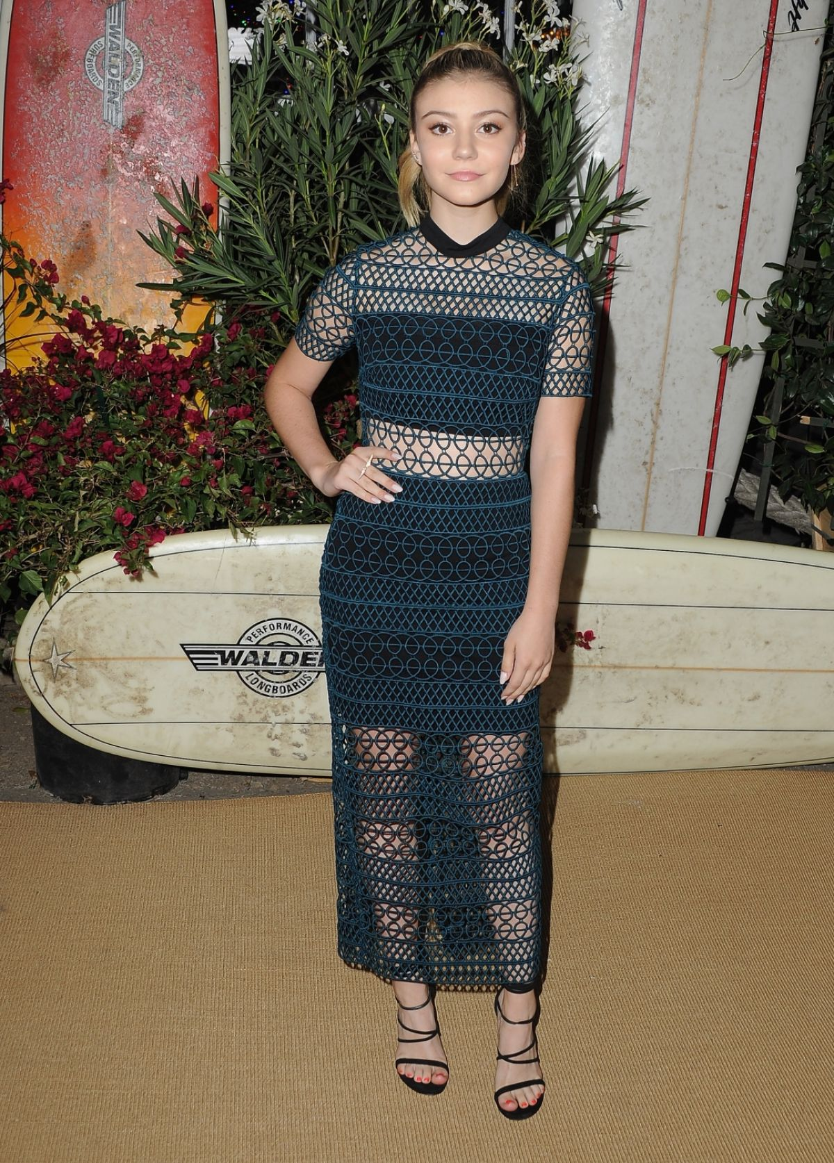 GENEVIEVE HANNELIUS at Teen Vogue Young Hollywood Party in Los Angeles 09/23/2016