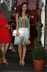 GEORGIA MAY FOOTE at V by Very London Fashion Week Party 09/15/2016