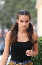 GEORGIA MAY FOOTE Out and About in London 09/14/2016