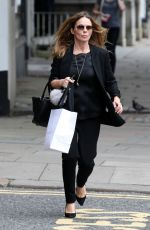 GERI GALLIWELL Out Shopping in London 09/06/2016