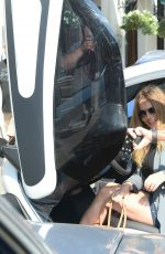 GERI HALLIWELL Drive a Renault Twizy Out in London 09/14/2016