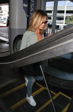 GIADA DE LAURENTIIS at LAX Airport in Los Angeles 09/07/2016
