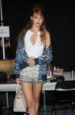 GIGI HADID at Anna Sui Fashion Show at New York Fashion Week 09/14/2016