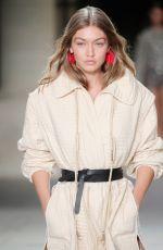 GIGI HADID at Isabel Marant Show at Paris Fashion Week 09/29/2016