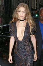 GIGI HADID at The Daily Front Row's 4th Annual Fashion Media Awards in New York 09/08/2016