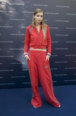 GIGI HADID at Tommy x Gigi Collection Launch in Milan 09/24/2016