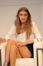 GIGI HADID at Tommy x Gigi Collection Press Conference in New York 09/09/2016