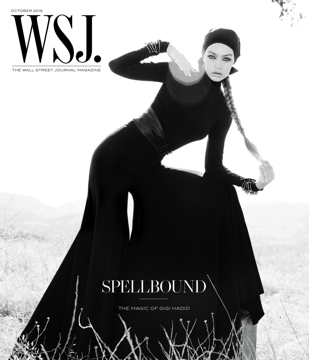 GIGI HADID for WSJ Magazine, October 2016 Issue