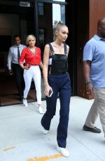 GIGI HADID Leaves Her Apartment in New York 09/10/2016