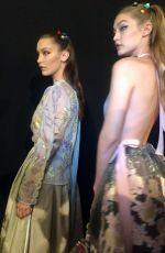 GIGI HADID on the Runway at Fendi Fashion Show in Milan 09/22/2016