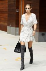 GIGI HADID Out and About in New York 09/05/2016