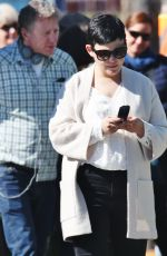 GINNIFER GOODWIN on the Set of