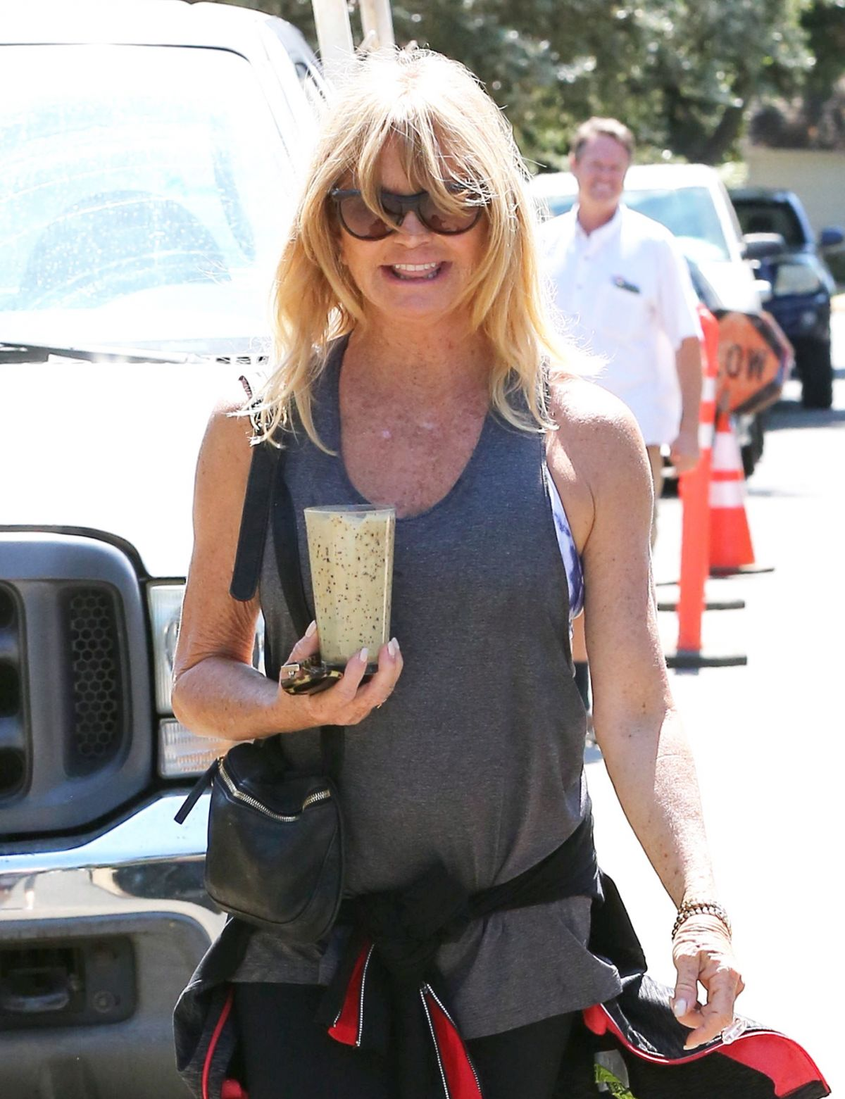 GOLDE HAWN Out in Pacific Palisades 09/14/2016