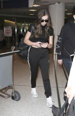 HAILEE STEINFELD at LAX Airport in Los Angeles 09/26/2016