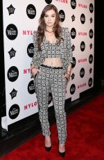HAILEE STEINFELD at Nylon Rebel Fashion Party in New York 09/08/2016