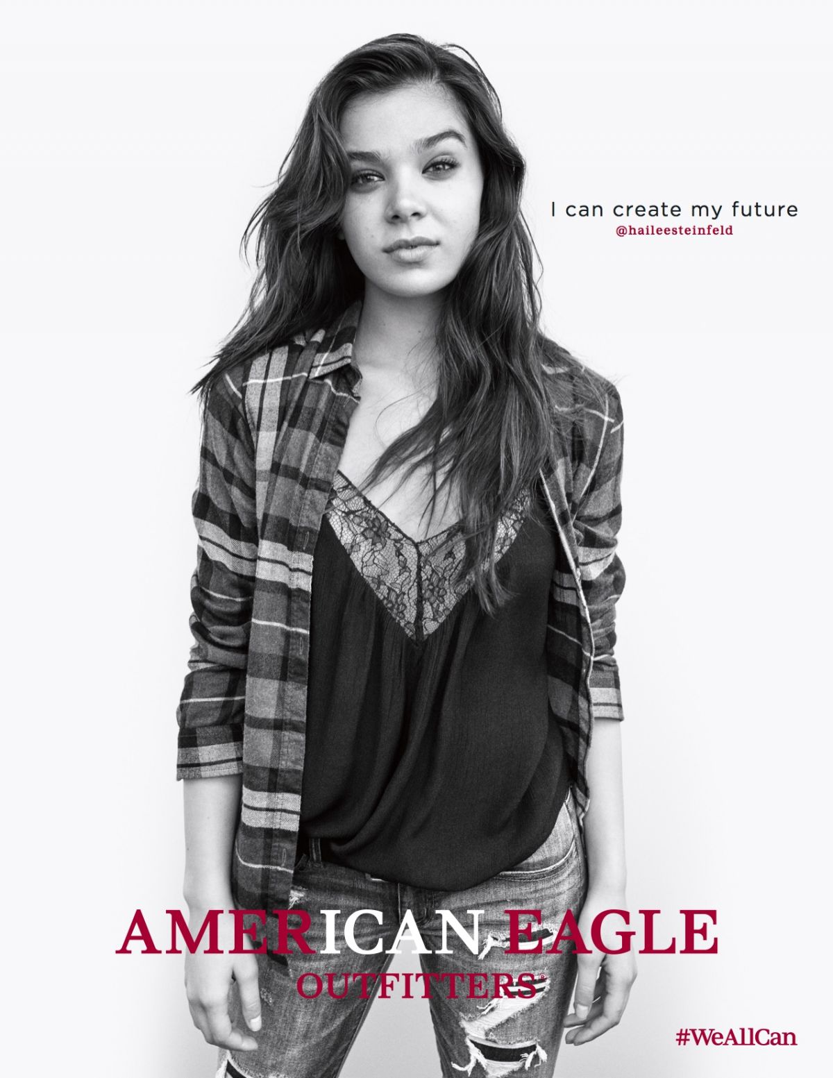 HAILEE STEINFELD for American Eagle