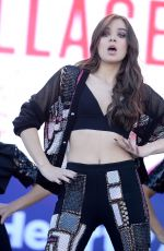 HAILEE STEINFELD Performs at 2016 IheartRradio Music Festival in Las Vegas 09/24/2016