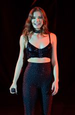 HAILEE STEINFELD Performs at Bayfront Park Ampitheatre in Miami 09/16/2016