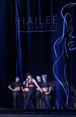 HAILEE STEINFELD Performs at Untouchable Tour in Allentown 09/03/2016