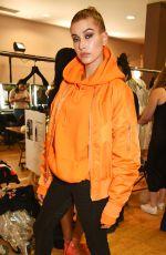 HAILEY BALDWIN at Julien MacDonald Fashion Show in London 09/17/2016