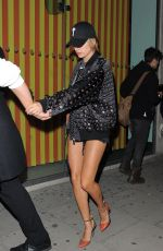 HAILEY BALDWIN Night Out in London 09/18/2016