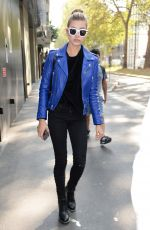 HAILEY BALDWIN Out and About in Milan 09/22/2016
