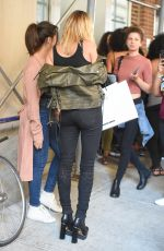 HAILEY BALDWIN Out and About in New York 09/04/2016