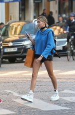 HAILEY BALDWIN Out Shopping in Paris 09/20/2016